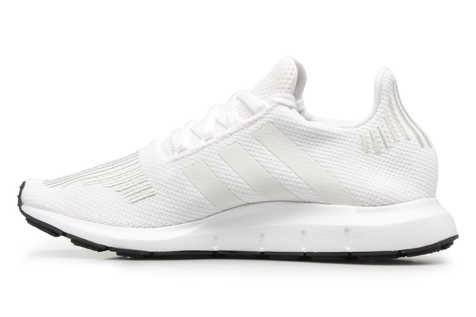 Baskets Adidas Originals Swift Run J Blanc vue face
