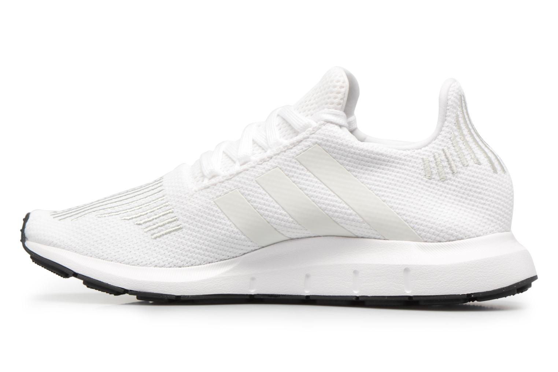 Deportivas Adidas Originals Swift Run J Blanco vista de frente