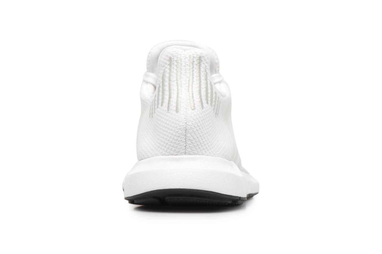 Baskets Adidas Originals Swift Run J Blanc vue droite