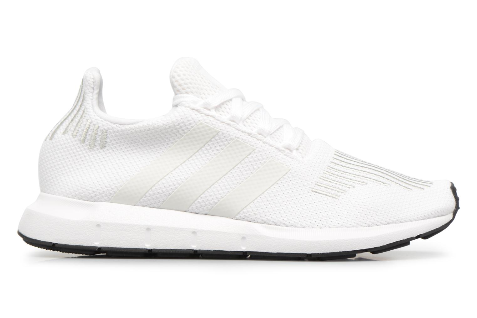 Baskets Adidas Originals Swift Run J Blanc vue derrière