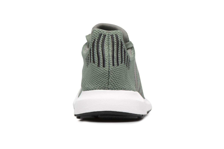 Baskets Adidas Originals Swift Run J Vert vue droite