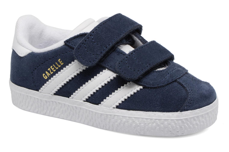 Sneakers Adidas Originals Gazelle Cf I Blå detaljeret billede af skoene