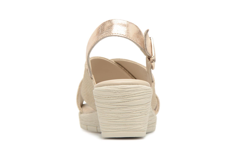 Moda barata y hermosa The Flexx Ambiguous (Oro y bronce) - Sandalias en Más cómodo