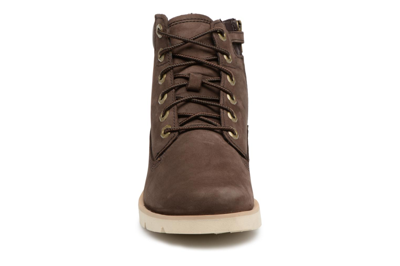 "Bottines et boots Timberland Radford 6"" Boot Kids Marron vue portées chaussures"