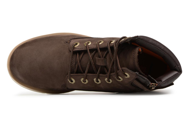 "Bottines et boots Timberland Radford 6"" Boot Kids Marron vue gauche"