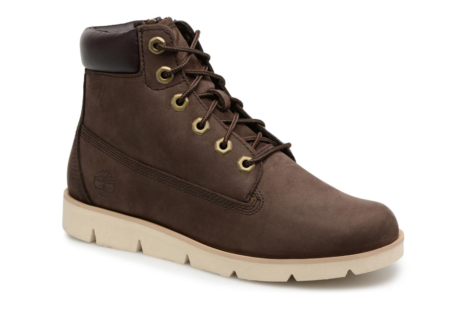 "Radford 6"" Boot Kids Red Briar Nubuck"