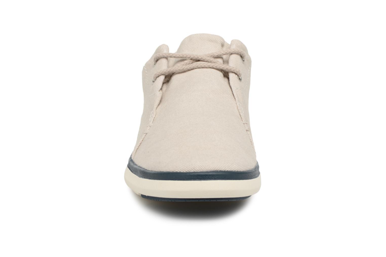 Sneaker Timberland Gateway Pier Oxford grau schuhe getragen