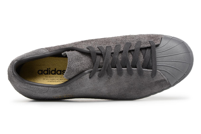 Sneakers Adidas Originals SUPERSTAR 80s CLEAN Grijs links