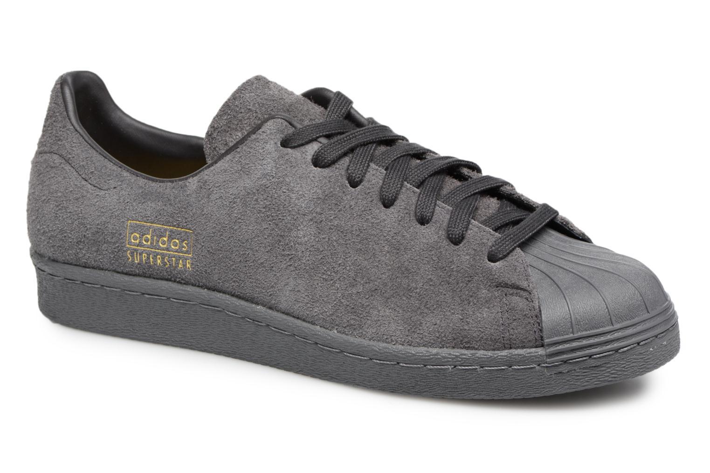 Sneakers Adidas Originals SUPERSTAR 80s CLEAN Grijs detail