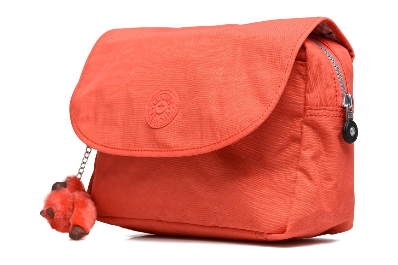 Reisegepäck kipling DOLORES orange schuhe getragen