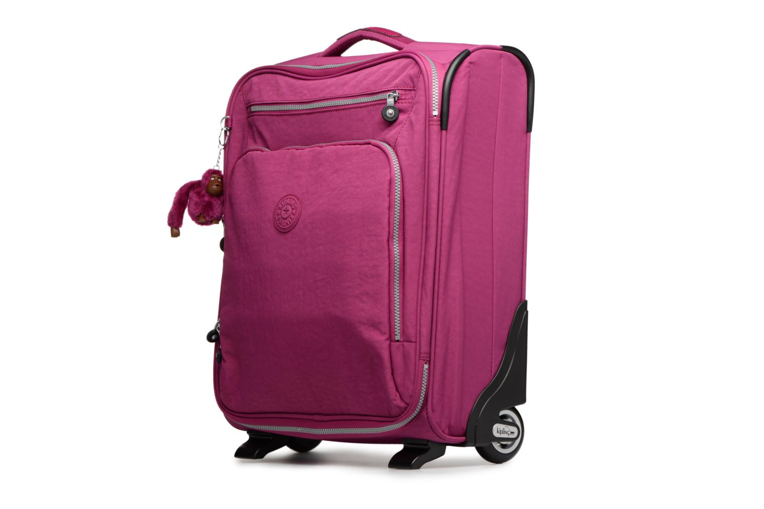 Bagages kipling YOURI 50 Rose vue portées chaussures