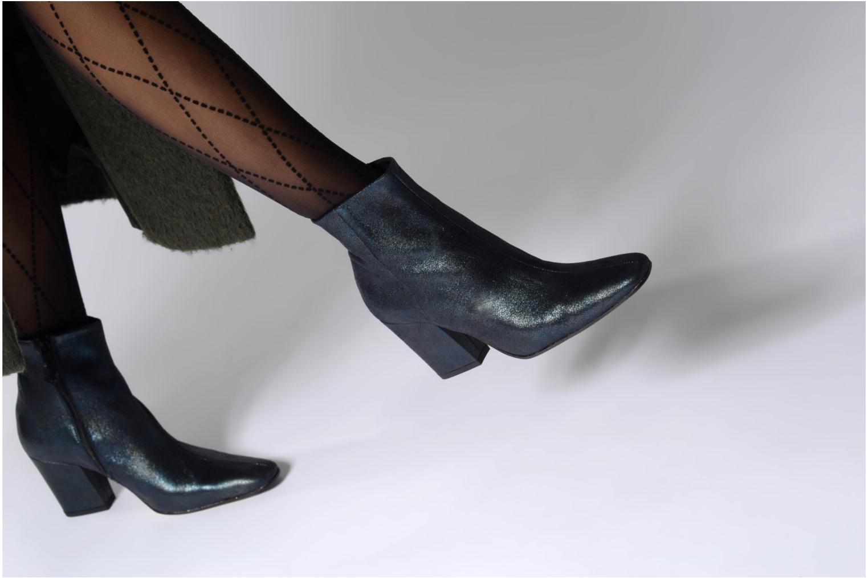 Bottines et boots Elizabeth Stuart TEMPO 325 Bleu vue bas / vue portée sac