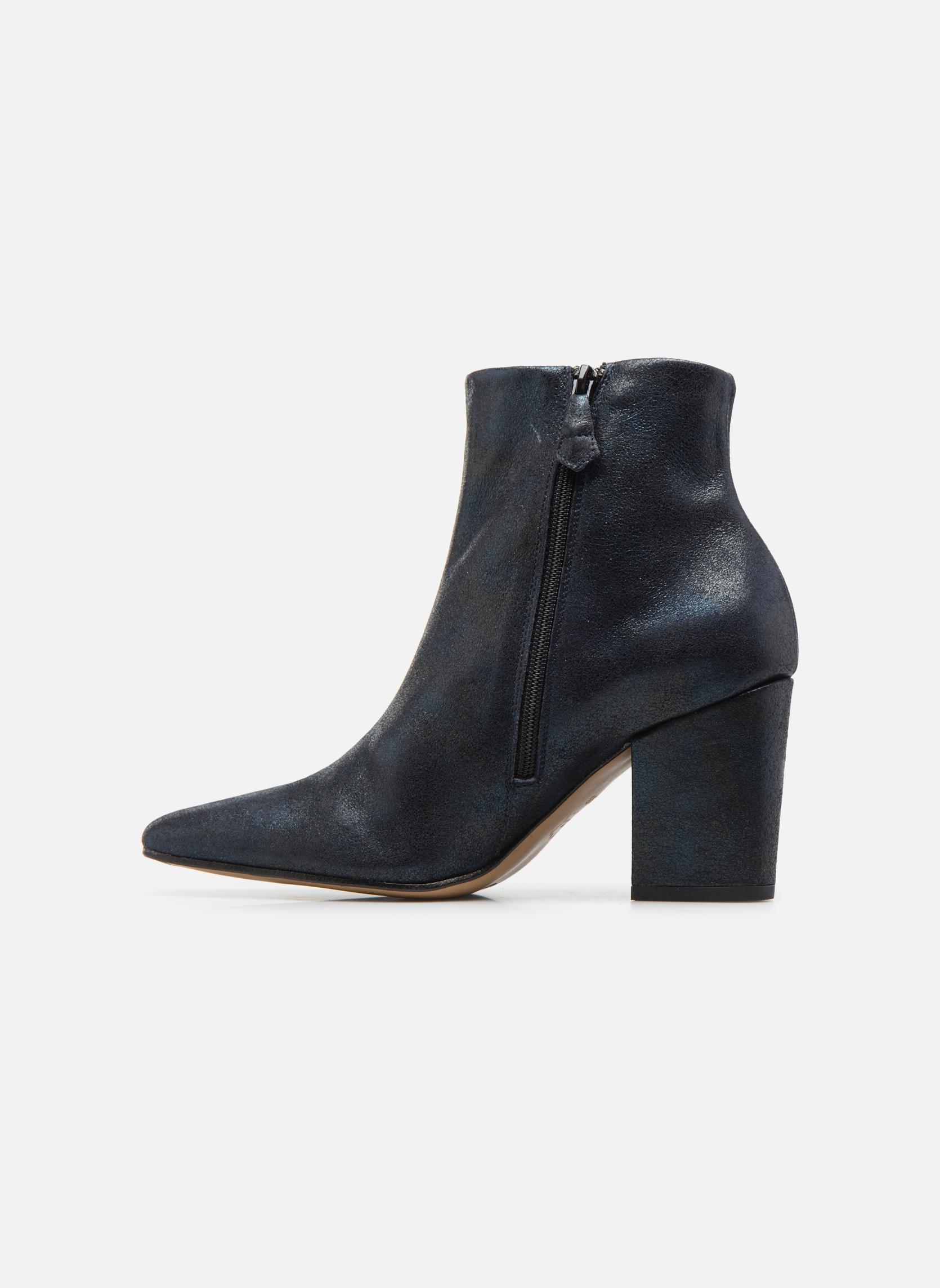 Bottines et boots Elizabeth Stuart TEMPO 325 Bleu vue face