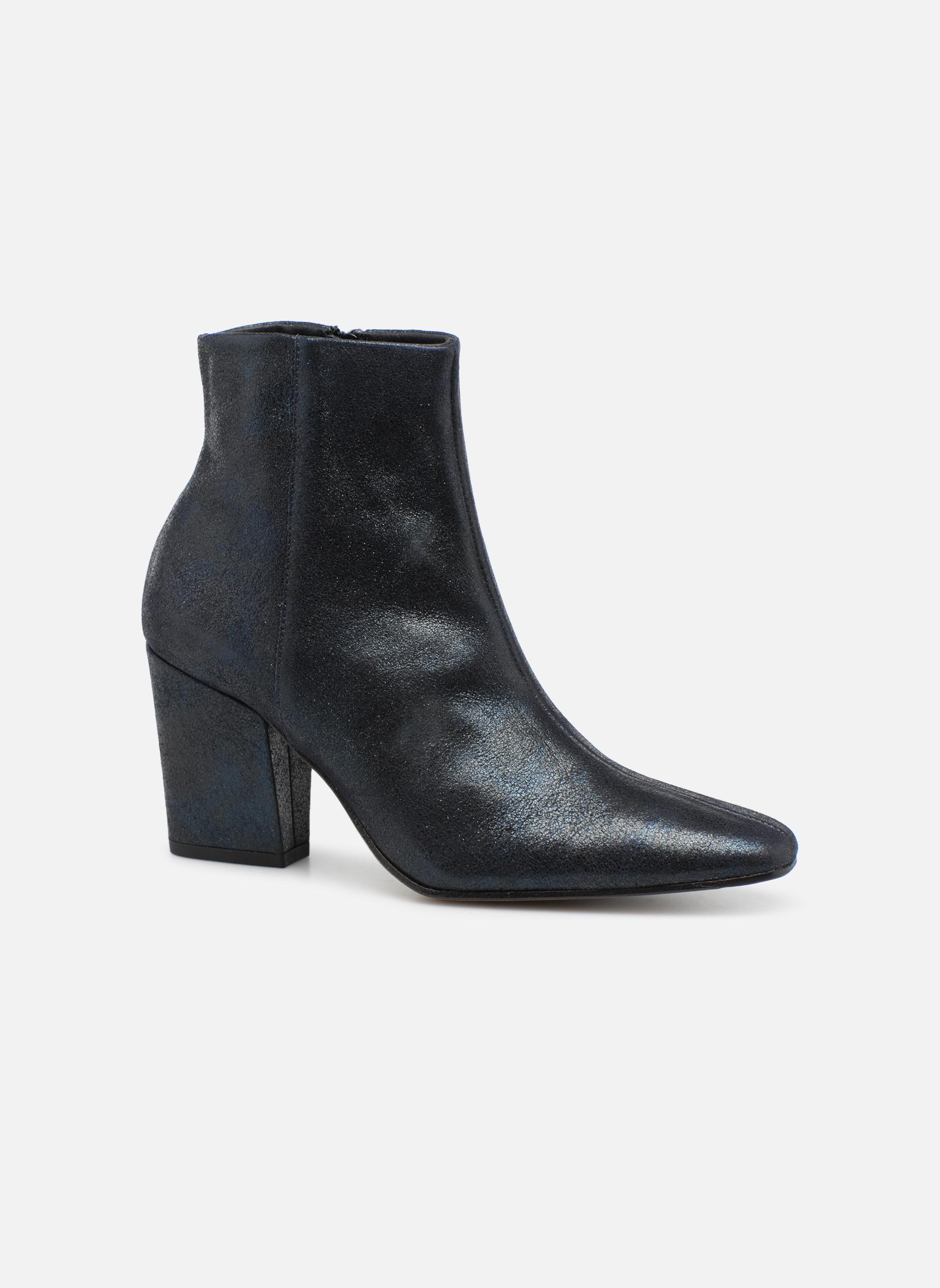 Bottines et boots Elizabeth Stuart TEMPO 325 Bleu vue détail/paire