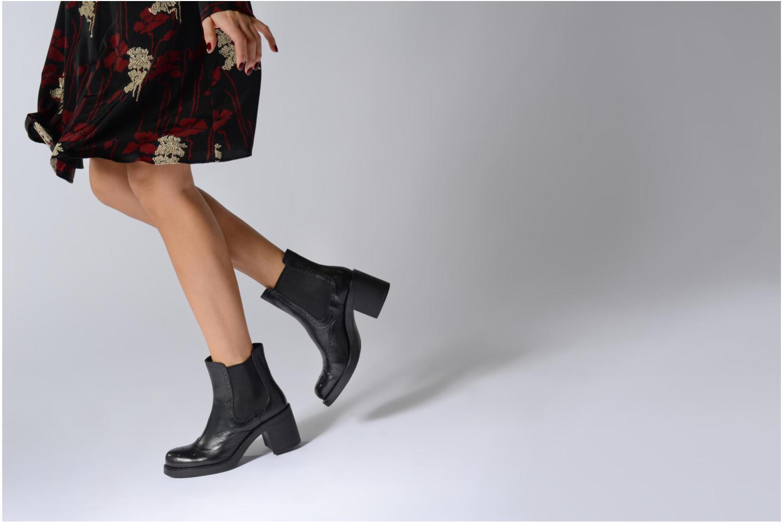 Bottines et boots Elizabeth Stuart XATY 333 Noir vue bas / vue portée sac