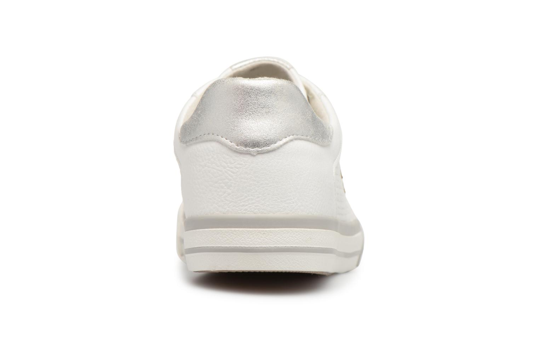 Baskets Mustang shoes Baroni Blanc vue droite