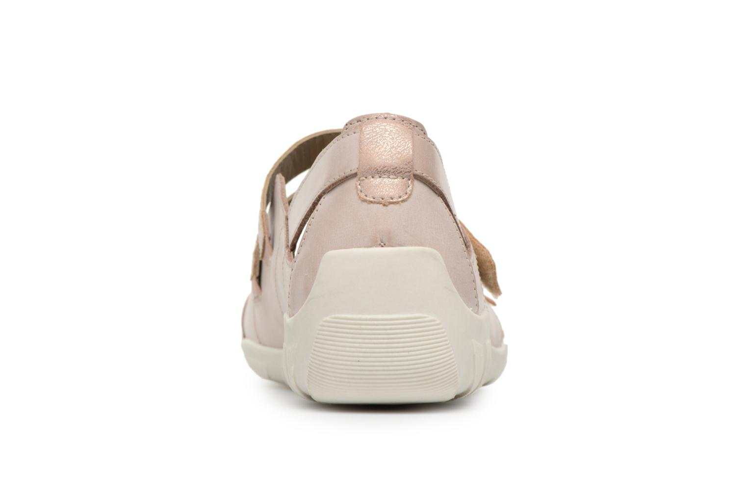 Ballet pumps Remonte Rae R3428 Beige view from the right