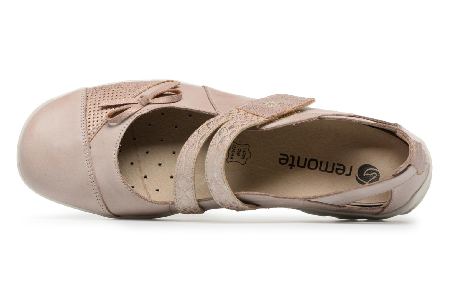 Ballet pumps Remonte Rae R3428 Beige view from the left