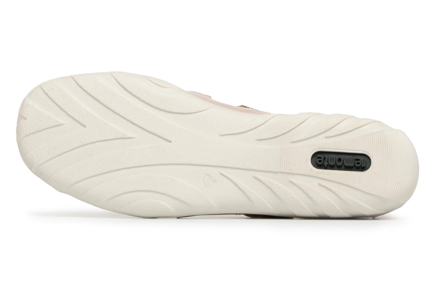 Ballet pumps Remonte Rae R3428 Beige view from above