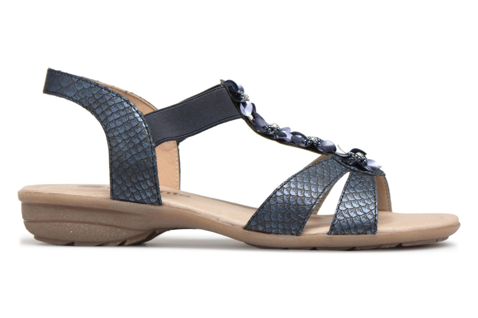 Sandals Remonte Talia R3633 Blue back view