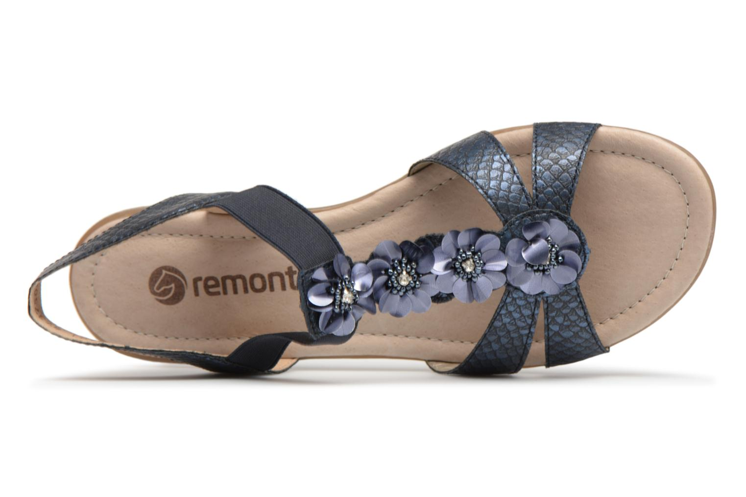 Sandals Remonte Talia R3633 Blue view from the left