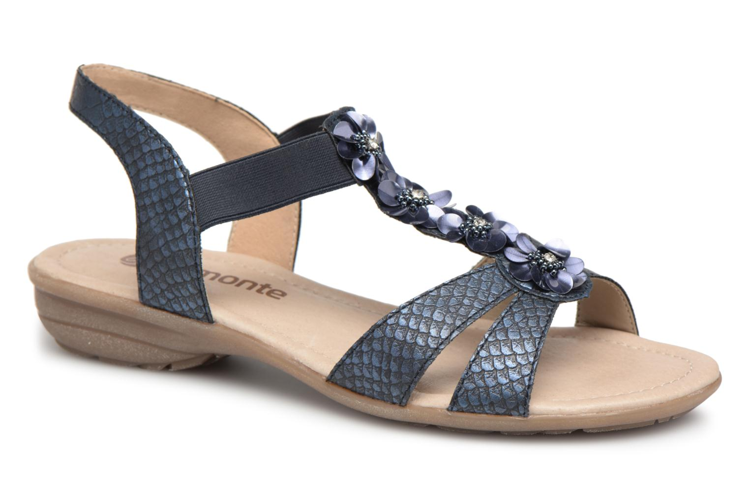 Sandals Remonte Talia R3633 Blue detailed view/ Pair view