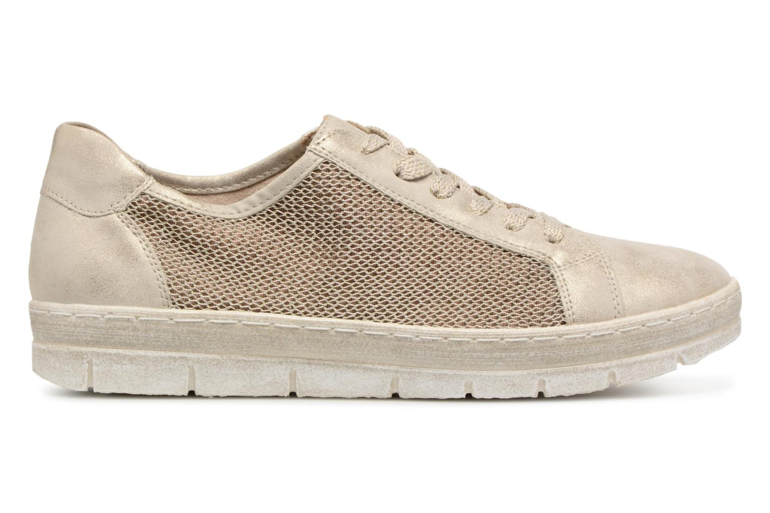Trainers Remonte Fae D5804 Bronze and Gold back view