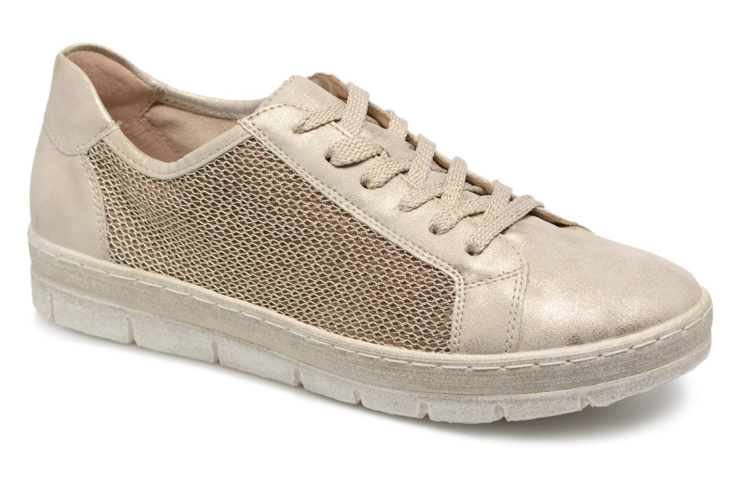 Trainers Remonte Fae D5804 Bronze and Gold detailed view/ Pair view