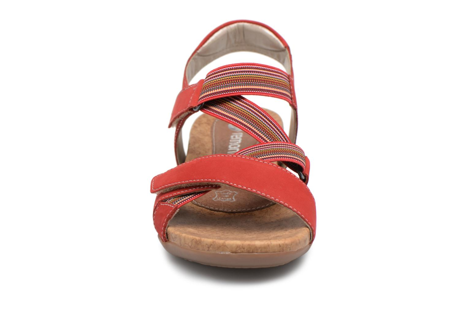 Sandals Remonte Okes R3257 Red model view