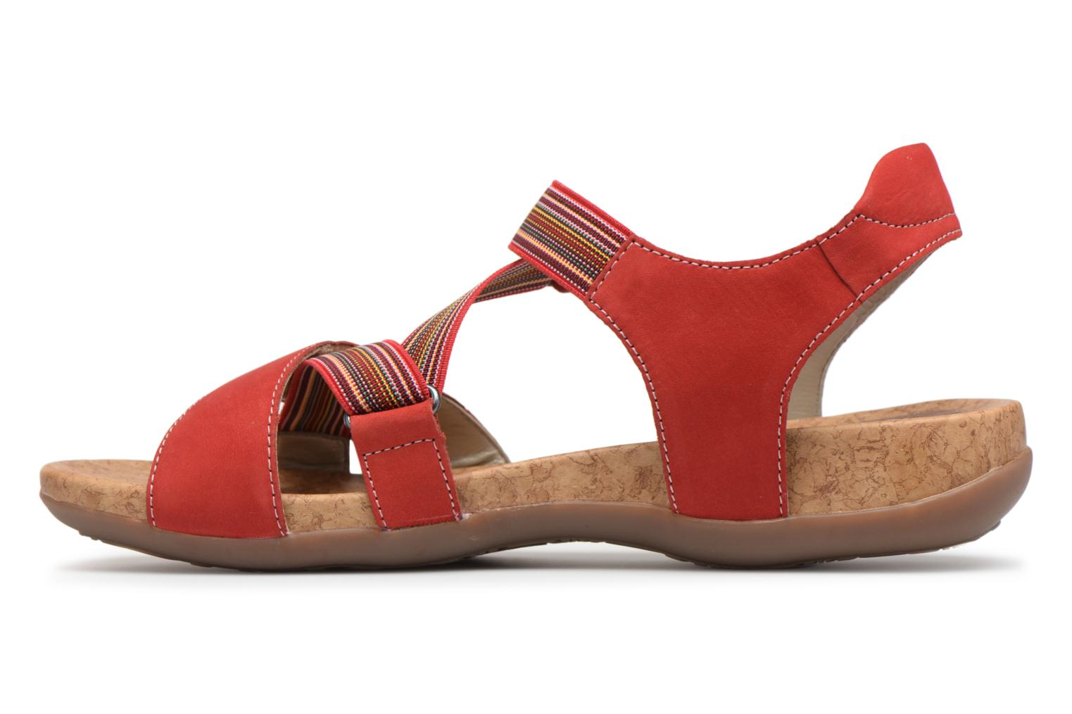 Sandals Remonte Okes R3257 Red front view