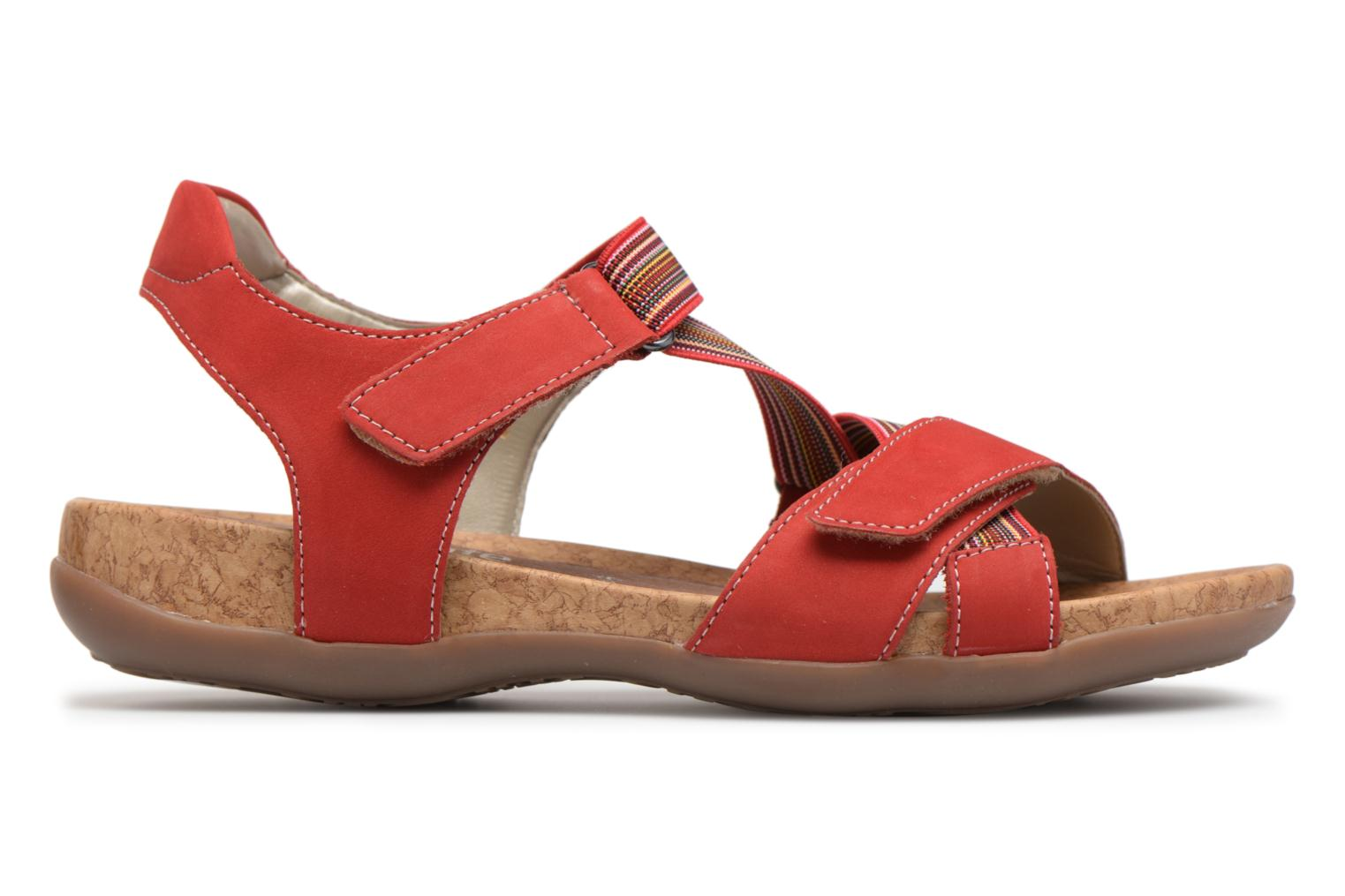 Sandals Remonte Okes R3257 Red back view