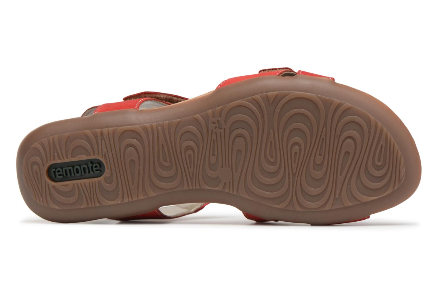 Sandals Remonte Okes R3257 Red view from above