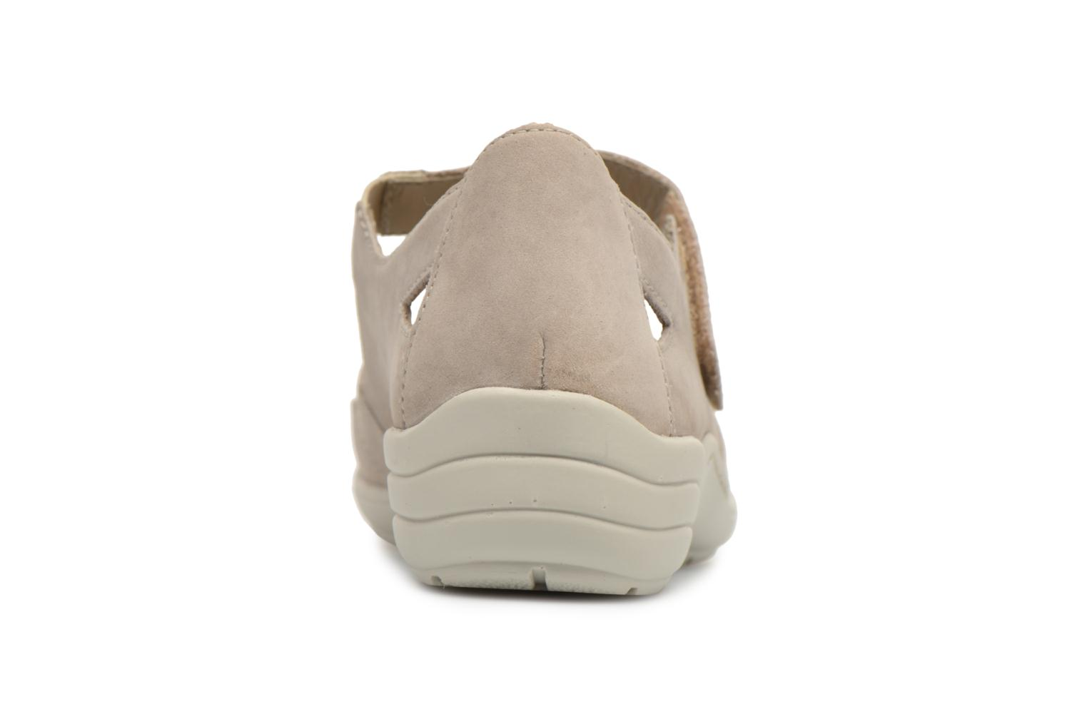 Ballet pumps Remonte Cameo R7616 Beige view from the right
