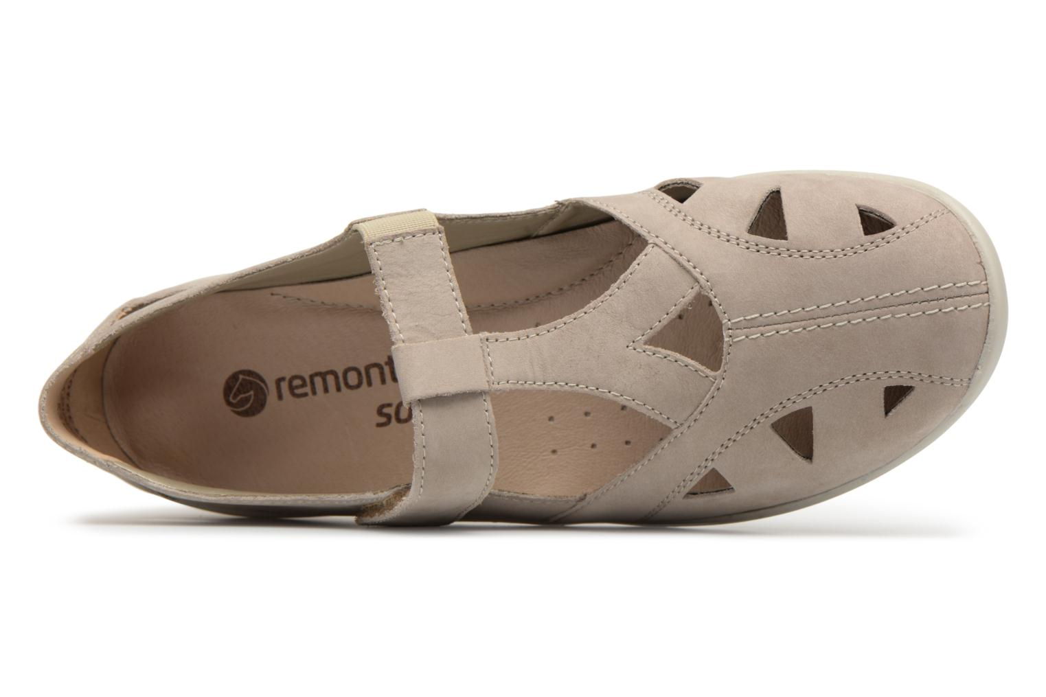 Ballet pumps Remonte Cameo R7616 Beige view from the left