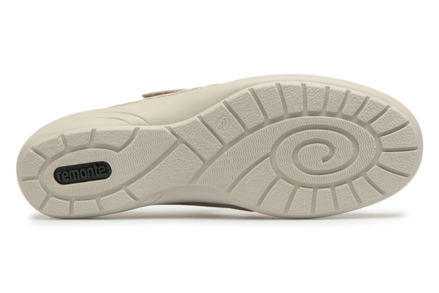 Ballet pumps Remonte Cameo R7616 Beige view from above