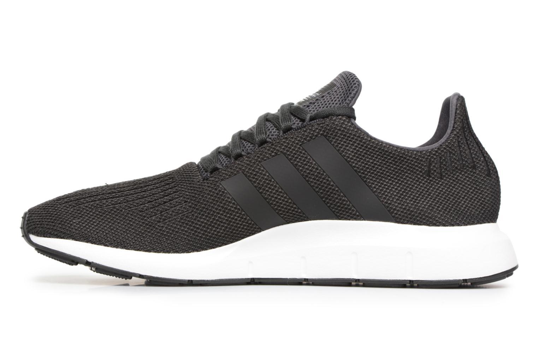 Sneakers Adidas Originals Swift Run Zwart voorkant