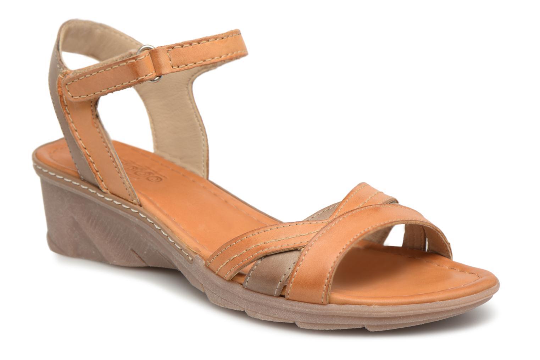 Grandes descuentos últimos zapatos Khrio Pabaky mohait canella (Marrón) - Sandalias Descuento
