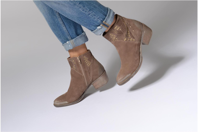 Bottines et boots Khrio Caloda / saio ebano Marron vue bas / vue portée sac