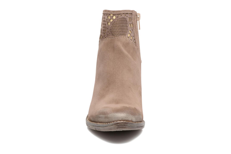 Bottines et boots Khrio Caloda / saio ebano Marron vue portées chaussures
