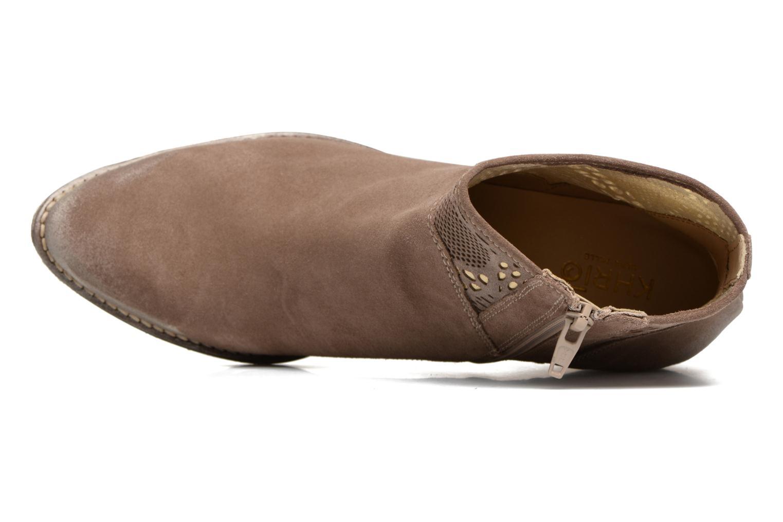 Bottines et boots Khrio Caloda / saio ebano Marron vue gauche