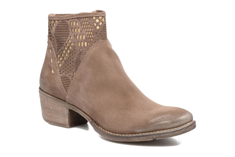 Bottines et boots Khrio Caloda / saio ebano Marron vue détail/paire