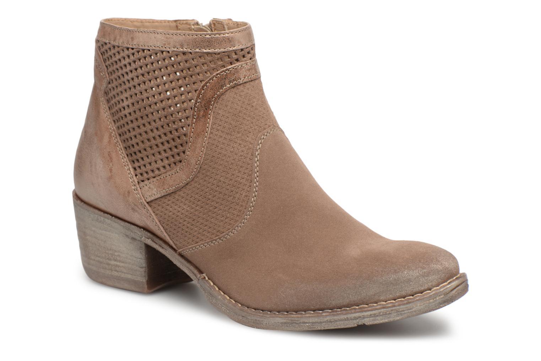 Zapatos promocionales Khrio Sinuko saio ebano (Marrón) - Botines    Venta de liquidación de temporada