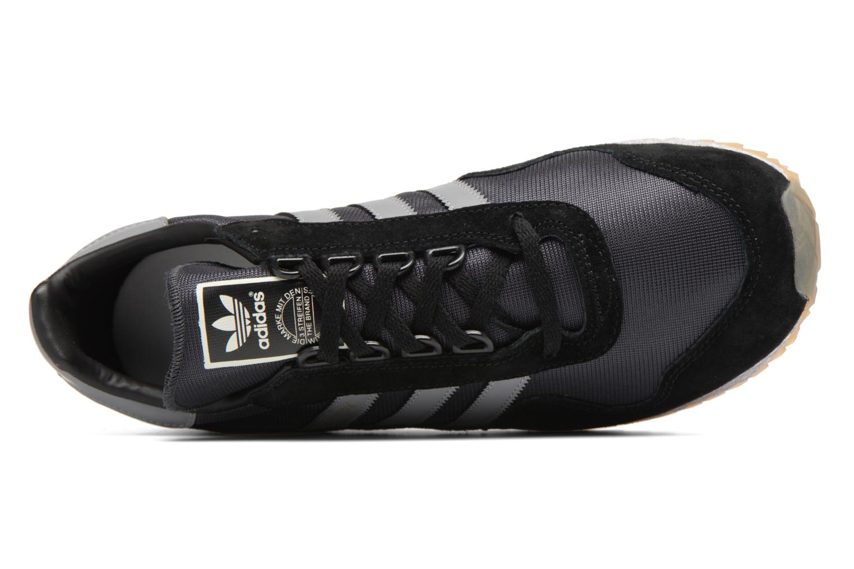 Baskets Adidas Originals New York Noir vue gauche