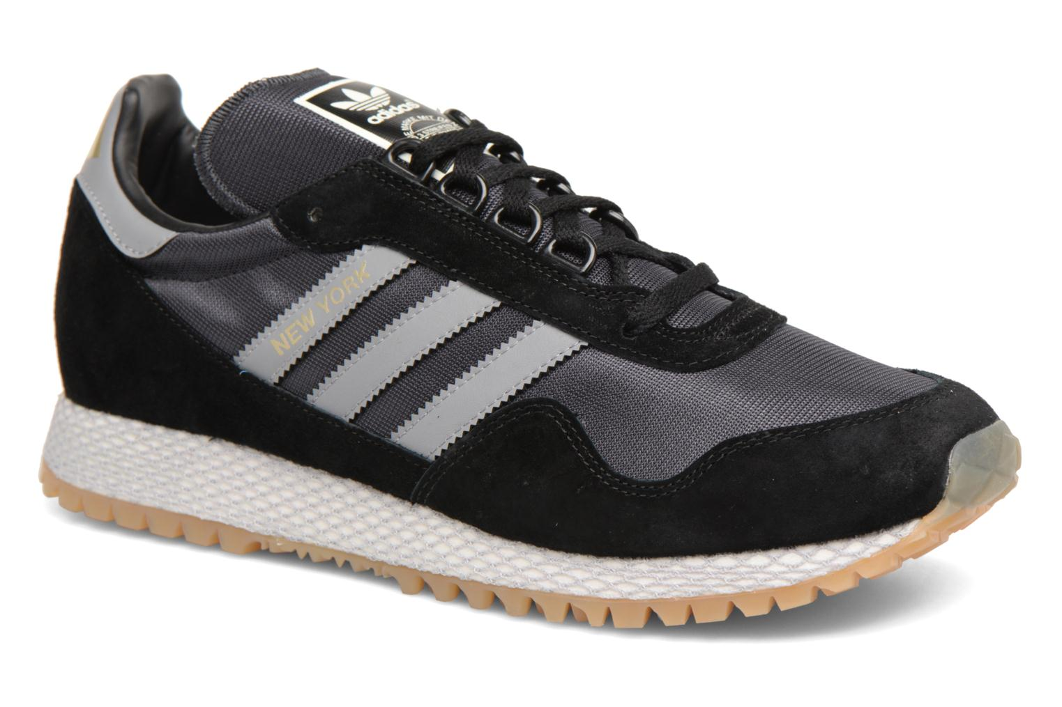 Adidas Originals New York (Noir) - Baskets chez Sarenza (322999)