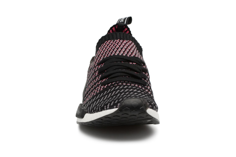 Baskets Adidas Originals Nmd_R1 Stlt Pk Noir vue portées chaussures