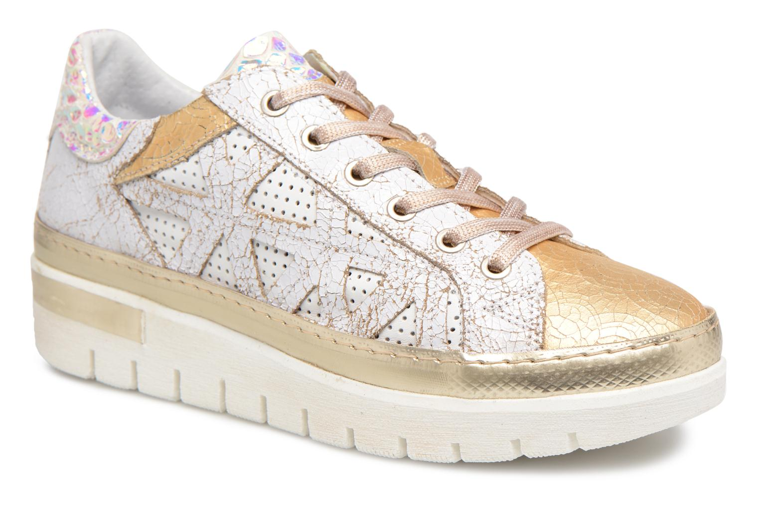 Trainers Khrio Bianca White detailed view/ Pair view