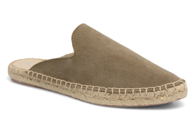 Los últimos zapatos de hombre y mujer 1789 CALA Mala Leather (Verde) - Alpargatas en Más cómodo