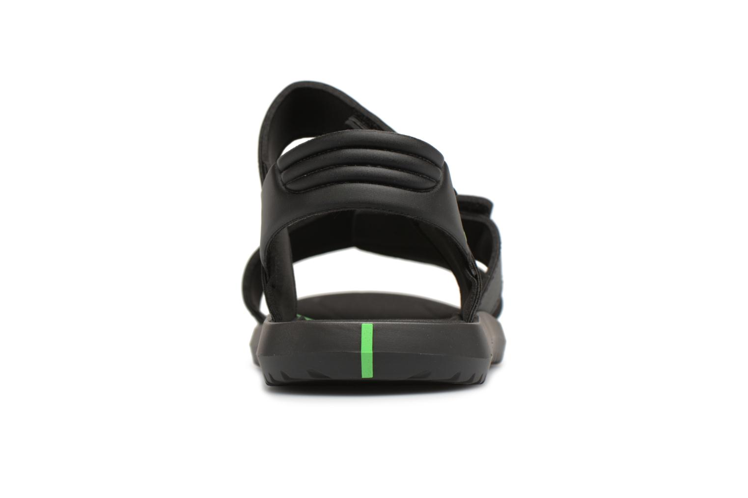 Sandals Rider Terrain Sandal AD H Black view from the right