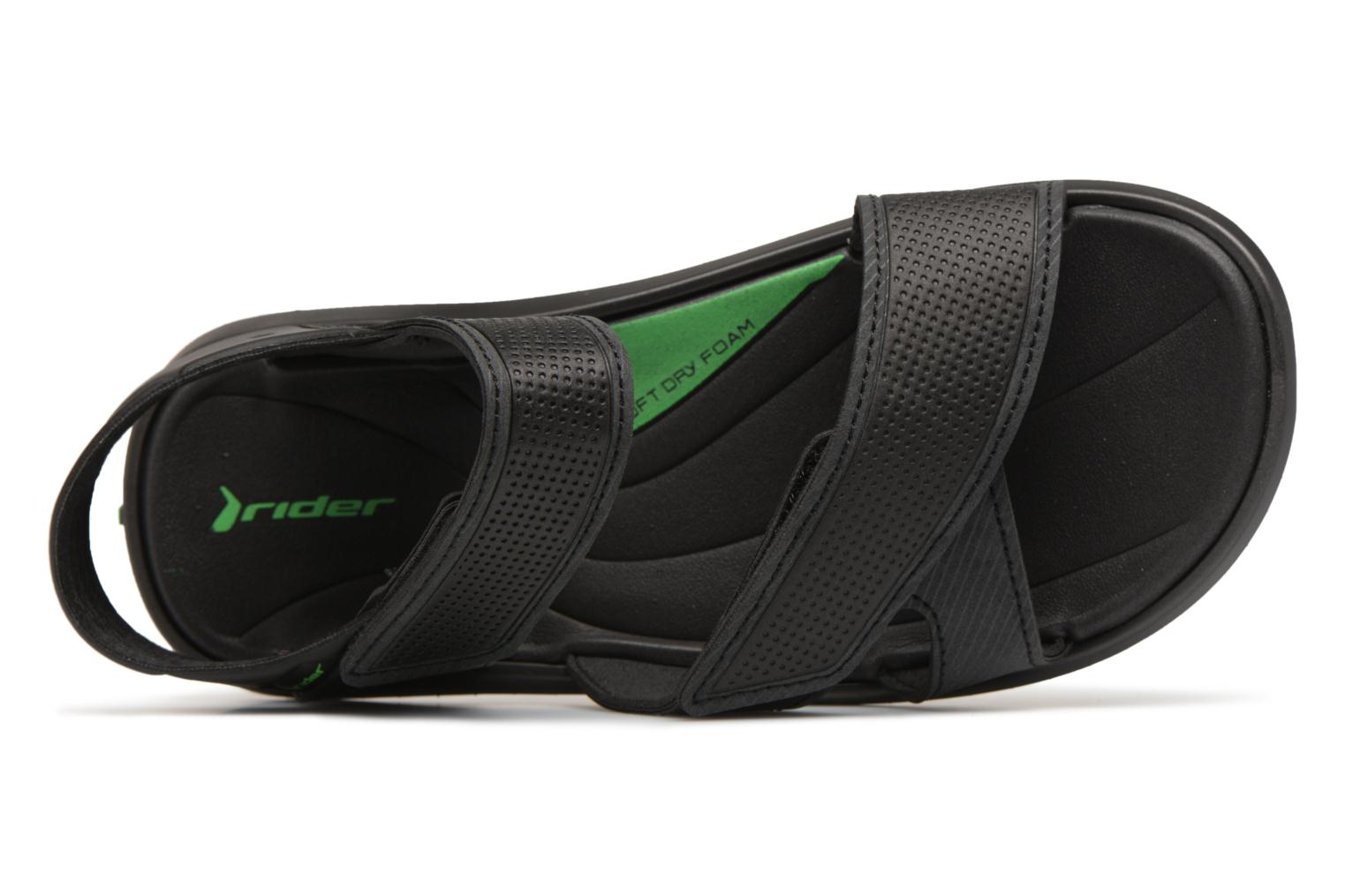 Sandals Rider Terrain Sandal AD H Black view from the left