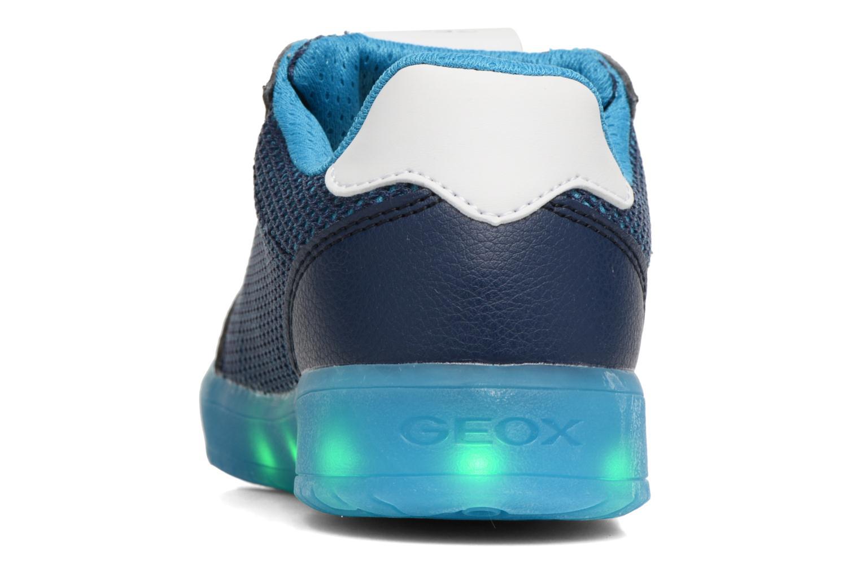 Baskets Geox J Kommodor B.A J825Pa Bleu vue droite